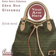 Ann's Fabulous Finds is giving away a Louis Vuitton handbag