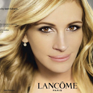 Julia Roberts' first Lancome ad.