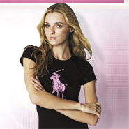Ralph Lauren is support breast cancer awareness with The Pink Pony Auction