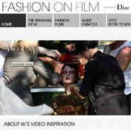 Dior is the lone sponsor of the Fashion on Film initiative