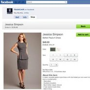 HauteLook has expanded its flash sales onto Facebook