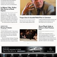 Mercedes-Benz has advertised on mobile devices, but many high-end brands have not
