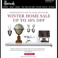 Harrods is among the luxury retailers offering big bargains via email