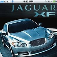 Jaguar promotes its new mobile app