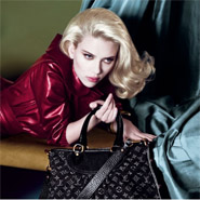 LV is using its monogrammed bags as tools for interaction