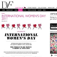 DVF is empowering women with various events
