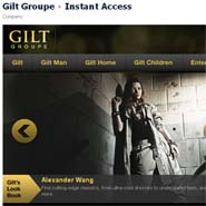 Gilt has started to use Facebook commerce
