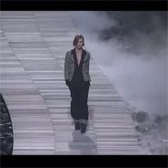 Chanel models walk the walk