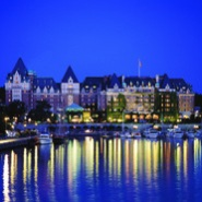 Fairmont Empress Hotel in Victoria, British Columbia, Canada