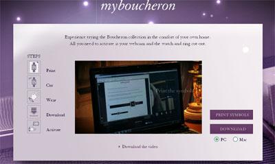 Boucheron's augmented reality