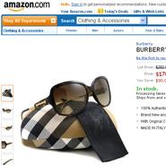 Burberry on Amazon.com