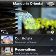 Mandarin Oriental iPhone app