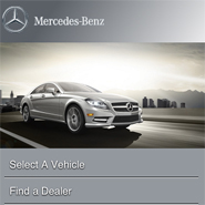 Mercedes-Benz's mobile site