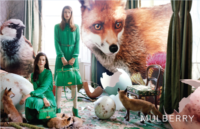 Mulberry fall/winter campaign
