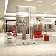 Rendering of Saks Fifth Ave in Kazakhstan