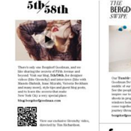 Bergdorf Goodman uses QR codes
