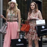 Chanel's product placement on Gossip Girl