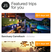 Jetsetter iPhone app