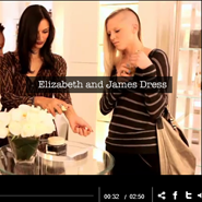 Bergdorf's shoppable 5F video