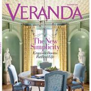 Veranda's October cover