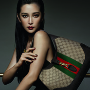 Gucci campaign image with Li Bing Bing