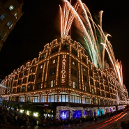 Harrods celebrated the holiday season in 2012
