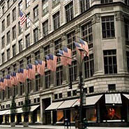 Saks flagship store in New York