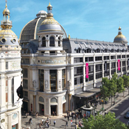 The exterior of Printemps' Paris store