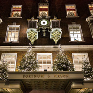 The exterior of Fortnum and Mason