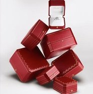 Cartier's red boxes