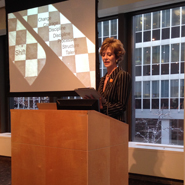 Rebecca Miller speaking at Luxury FirstLook: Strategy 2014