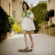 Alexa Chung for Longchamp, spring 2014