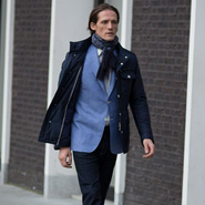 Canali Styled from London look