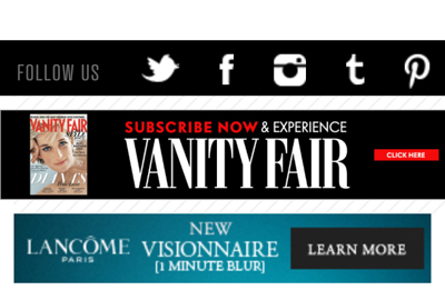 3e20cfb9f4 Lancôme uses banner ads and pop-ups to catch consumer attention