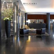 Bulgari Hotel & Residence, London's lobby