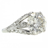 An engagement ring available at Doyle & Doyle