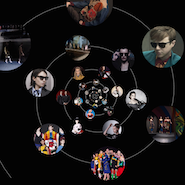 Screenshot of Prada's Pradasphere microsite