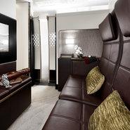 Etihad's The Residence lounge area