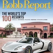 Robb Report's May cover