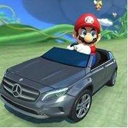 Mercedes-Benz in Mario Kart Japan