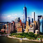 New York skyline courtesy of Douglas Elliman