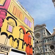 Monumental Pucci installation