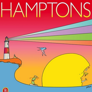 Hamptons magazine's summer cover by Peter Max