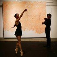 Performance art at Prada's Art or Sound exhibit
