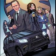 Lexus in Agents of S.H.I.E.L.D. comic book