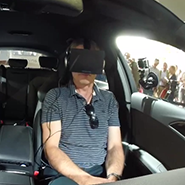 Audi used Ocular Rift virtual reality technology at Goodwood