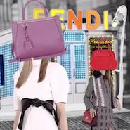Video still from Fendi
