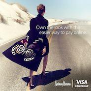 Neiman Marcus Visa Checkout promotional image