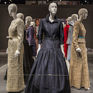 Oscar de la Renta exhibit at the Bush Presidential Center