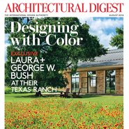 Architectural Digest's August cover